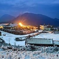 Đỉnh Mẫu Sơn như góc trời châu Âu khi mùa tuyết về