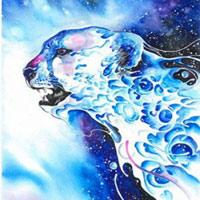 Thế giới động vật độc đáo qua tranh màu nước