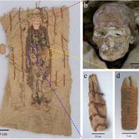 Thỏi son làm từ tim động vật 3600 năm tuổi chôn cùng xác ướp