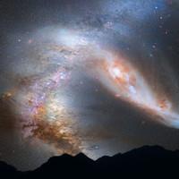 Thiên hà lao về phía Trái Đất với tốc độ 400.000km/h