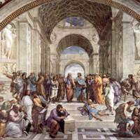 Trường học như thiên đường của triết gia Hy Lạp Aristotle