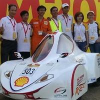 Việt Nam giành giải nhất sáng chế xe tiết kiệm nhiên liệu châu Á
