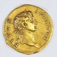 Tiền vàng 2.000 năm đúc hình hoàng đế La Mã được phong thần