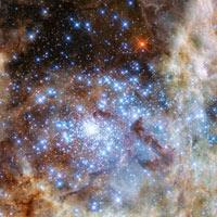 Phát hiện cụm sao sáng gấp 30 triệu lần Mặt Trời