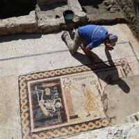 Phát hiện tranh khảm ghép cổ 2.400 năm với thông điệp đầy bất ngờ