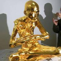 Xác ướp phật sống Trung Quốc thành tượng vàng trước khi nhập chùa
