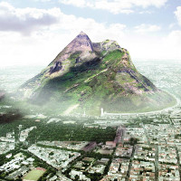 UAE xây núi nhân tạo để tăng nguồn nước mưa