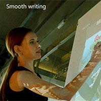 Thiết bị giúp biến mọi mặt phẳng thành màn hình cảm ứng của máy tính bảng