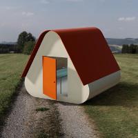 Học sinh trung học thiết kế nhà ở cho người vô gia cư cực hiệu quả