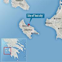"""Giải mã bí ẩn """"thành phố mất tích"""" ngoài khơi Hy Lạp"""
