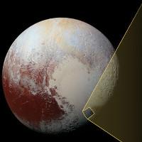 Phát hiện cao nguyên đen trên sao Diêm Vương