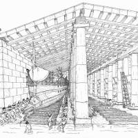 Căn cứ đồ sộ của hải quân Hy Lạp cổ đại