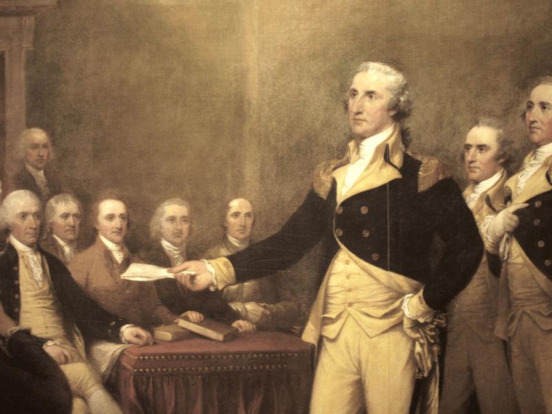 Tổng thống Mỹ giàu có nhất lịch sử George Washington sở hữu khối tài sản khổng lồ, ước tính 525 triệu USD