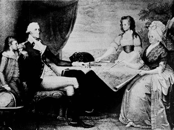 Năm 1759, Tổng thống Washington kết hôn với Martha Dandridge Custis - góa phụ trẻ có 2 con nhưng vô cùng giàu có.