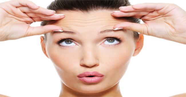 Tự chẩn đoán bệnh qua nếp nhăn trên mặt