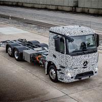 Daimler giới thiệu Mercedes-Benz Urban eTruck - Xe tải nặng chạy điện hoàn toàn