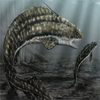 Cá mập mình lươn khổng lồ thời tiền sử ăn thịt con non