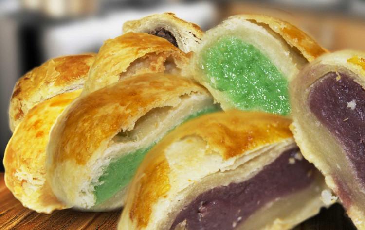 Hopia là tên gọi những chiếc bánh Trung thu của người Philippines.