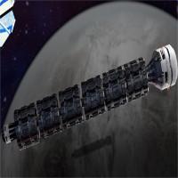 Tàu hỏa vũ trụ đi từ Trái Đất lên Mặt Trăng trong hai phút
