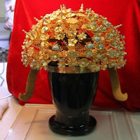 Phục hồi thành công vương miện 1400 tuổi của hoàng hậu nhà Tùy
