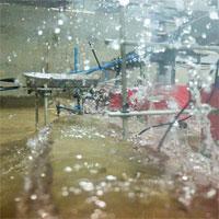 Lần đầu tiên tạo được sóng thần trong phòng thí nghiệm
