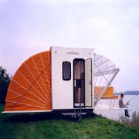 """Moóc gấp Markies - """"Lều"""" cắm trại tiện nghi nhất hiện nay"""