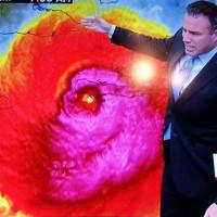 Hình ảnh vệ tinh ma quái của siêu bão Matthew khiến dân mạng sợ hãi