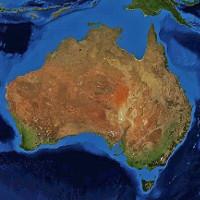 Lục địa Australia nghiêng, di chuyển theo các mùa