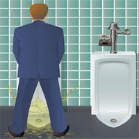 """Cách giúp đàn ông chấm dứt cảnh """"bắn tung tóe"""" mỗi khi đi WC"""