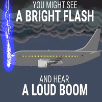 Video: Khả năng chống chọi sét đánh của máy bay