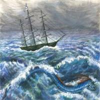 """Truyền thuyết về loài """"rắn biển khổng lồ"""""""