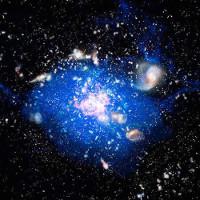 Nguồn gốc hình thành siêu ngân hà trong vũ trụ