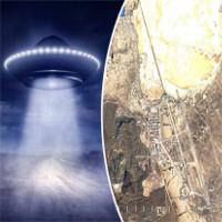 """Google Earth tiết lộ bí ẩn """"căn cứ người ngoài hành tinh"""" Vùng 51 của Mỹ"""