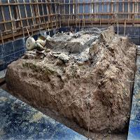 Trung Quốc đóng gói mộ cổ 30 tấn chuyển về phòng thí nghiệm