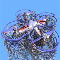 Siêu máy tính NASA mô phỏng gió lốc từ máy bay drone