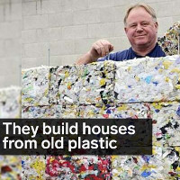 Video: Biến rác thải đại dương thành gạch xây nhà