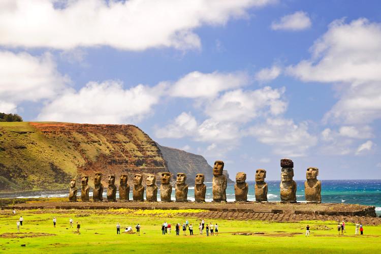 Những bức tượng nhân sư khổng lồ trường tồn suốt hàng ngàn năm qua