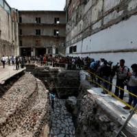 Phát hiện dấu tích bộ tộc ăn thịt người Aztec cổ đại tại thủ đô Mexico
