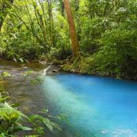 Dòng sông màu ngọc lam đánh lừa các nhà khoa học