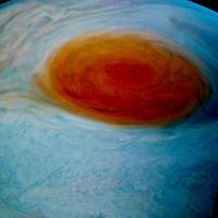 """NASA công bố ảnh """"siêu bão"""" Vết Đỏ Lớn trên Sao Mộc"""