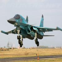 Khám phá máy bay chiến đấu SU-34 của Nga