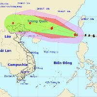 Biển Đông đón bão, Bắc Bộ mưa lớn