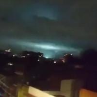 Ánh sáng nhiều màu chớp lóe trong động đất mạnh nhất Mexico