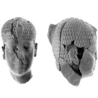 Tượng đầu người 4.300 năm bị đập vỡ của pharaoh Ai Cập