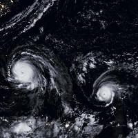 Điều gì tạo ra sức mạnh bất thường của mùa bão 2017?