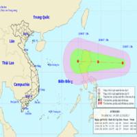 Áp thấp nhiệt đới lại tiếp tục xuất hiện trên biển Đông