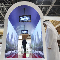 Đường hầm nhận diện khuôn mặt đầu tiên trên thế giới tại Dubai