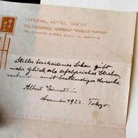 Bản chép tay 95 năm hé lộ bí mật thiên tài Albert Einstein
