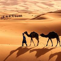 10 sa mạc - hoang mạc lớn trên thế giới