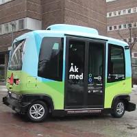 Video: Thụy Điển đưa vào hoạt động mẫu xe buýt tự hành đầu tiên